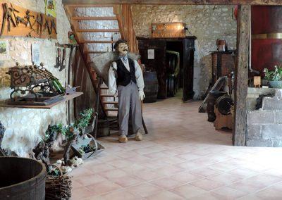 Les Ormeaux - pineau - cognac - Musée vigneron04