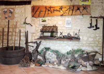 Les Ormeaux - pineau - cognac - Musée vigneron05